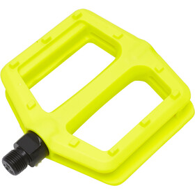 NS Bikes Nylon Pedals, lemon lime